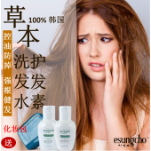 Esungcho Hair Shampoo + Hair Treatment, FREE Exclusive Cosmetic Pouch